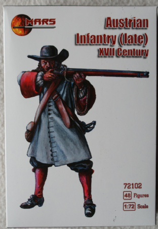 Mars 1/72 MAR72102 Austrian Infantry (Late) (17th Century)